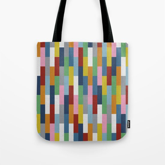 Bricks Rotate Tote Bag