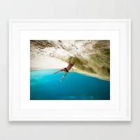 dune Framed Art Prints featuring Dune by Sébastien BOUVIER