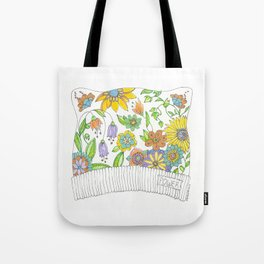 All THAT Pussy Cat Hat Tote Bag