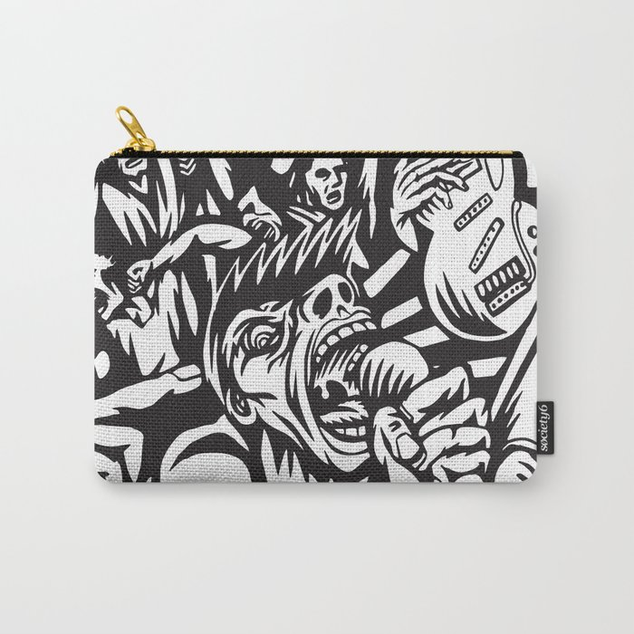 Illustration of Rock Concert Carry-All Pouch