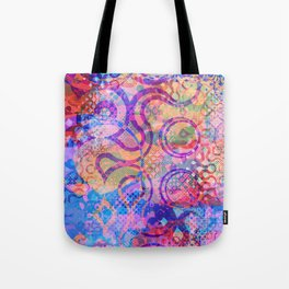 Rainbow Cthulhu Tote Bag