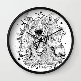 Cerberus Wall Clock