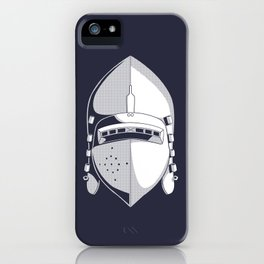Knight Helmet iPhone Case