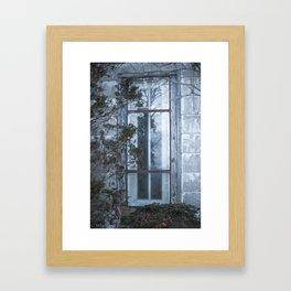 In Through The Window Framed Art Print