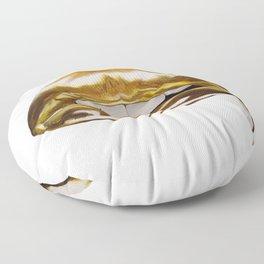 Golden Lips Floor Pillow