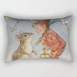 """""""The Bracken Fairy"""" by Margaret Tarrant Rectangular Pillow"""