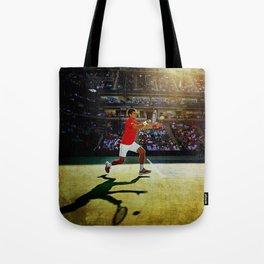 Novak Djokovic Tennis Tote Bag