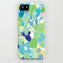 Cactus Mania iPhone Case