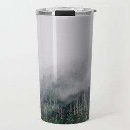 Misty Great Smoky National Park  Travel Mug