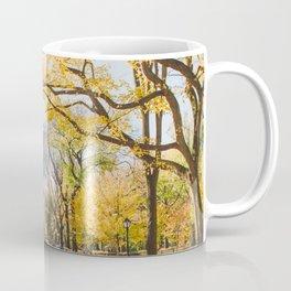 Golden in Central Park Coffee Mug