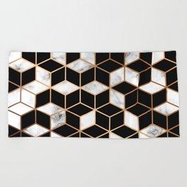 Marble & Geometry 005 Beach Towel