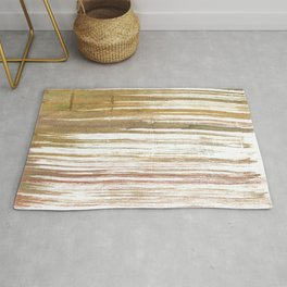 Light taupe abstract watercolor Rug