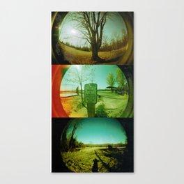 Home Town Feel Canvas Print