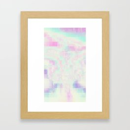 Hazed Framed Art Print