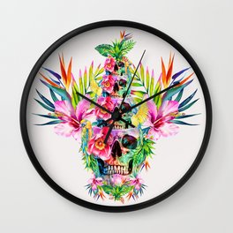 The Skull Tower Wall Clock