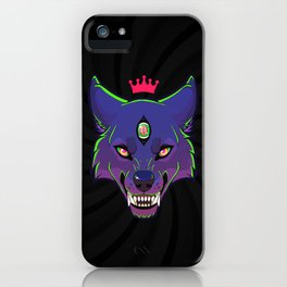 Knight Vision - Purple/Green iPhone Case