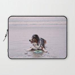 Coronado Dog Beach Laptop Sleeve