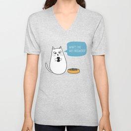 Wifi Cat Unisex V-Neck