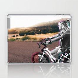 Glitching the ride Laptop & iPad Skin