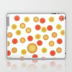 Circular Warm Texture Laptop & iPad Skin