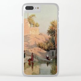 Kelly, Robert Talbot (1861-1934) - Egypt 1903, In the oasis of Fayum Clear iPhone Case
