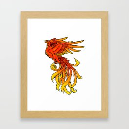 Phoenix #4 Framed Art Print