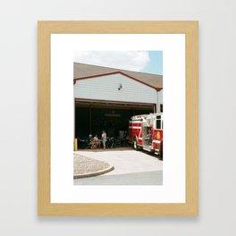 Firehouse Framed Art Print