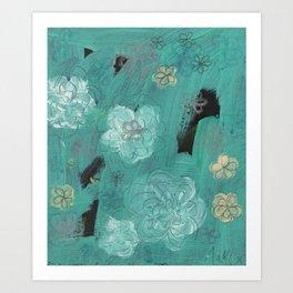 Flower Burst 3 Art Print