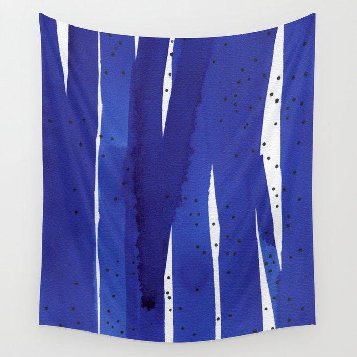Ultramarine series #7 Wall Tapestry