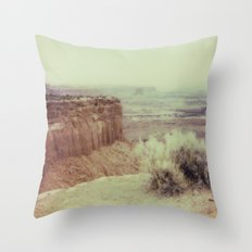 Canyonland National Park - Polaroid Throw Pillow