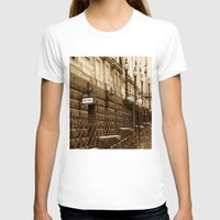 melbourne T-shirts featuring Collins St, Melbourne, Australia by SwanniePhotoArt