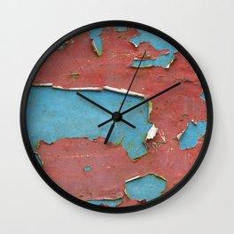 'Layers' Wall Clock