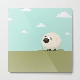 The sheep Metal Print
