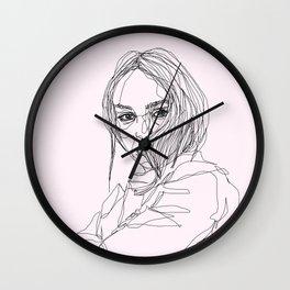 Lily-Rose Depp Wall Clock