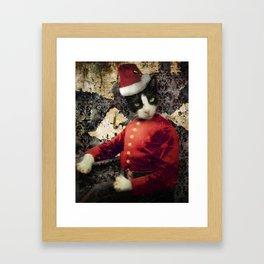 Santa Paws Framed Art Print