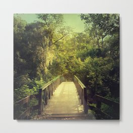 The Journey Starts With a Single Step Metal Print