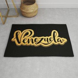 Venezuela de oro Rug