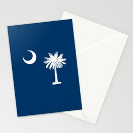 flag south carolina,america,us,Savannah,Palmetto,Carolinian,cotton,Confederate,Goose Creek,Rock Hill Stationery Cards