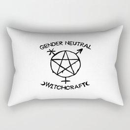 Gender Neutral Witchcraft (simple) Rectangular Pillow