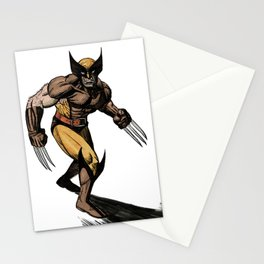 Old School Logan Stationery Cards