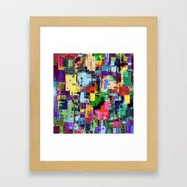 Colorful 3 Framed Art Print