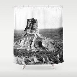 Jail Rock 1897 Shower Curtain