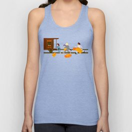 How Can A Train Be Lost? Unisex Tank Top