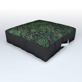 Fantasy Tree Greenery Outdoor Floor Cushion