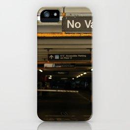 No Vans iPhone Case