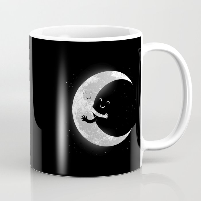 Moon Hug Coffee Mug