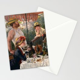 Pierre-Auguste Renoir - Luncheon of the Boating Party Stationery Cards