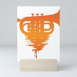 Baritone Euphonium Band Musician Bandsman Music Saxo Gift design Mini Art Print