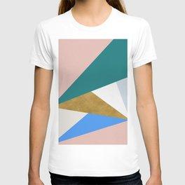 Contemporary Triangle Digital Print T-shirt