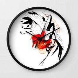 CRANE INKTOBER Wall Clock